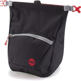 Moon Climbing Bouldering Chalk Bag jet black